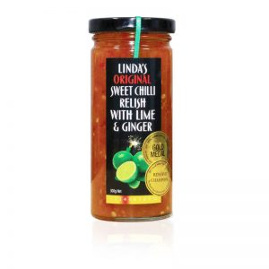 Linda's Sweet Chilli Relish with Lime & Ginger